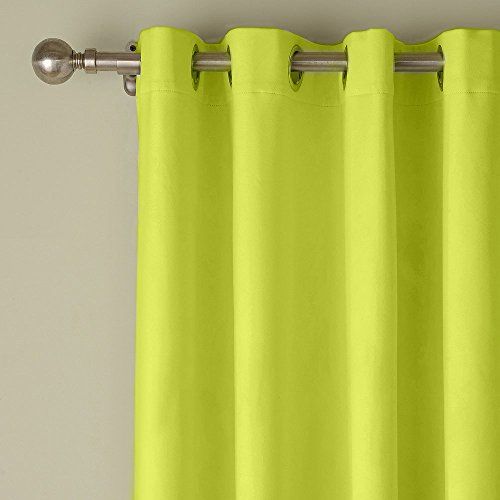 PASSENGER PIGEON Blackout Velvet Curtains, Premium Green Grommet Thermal  Lined 96 inch Window Curtains Panel Draperies, 120