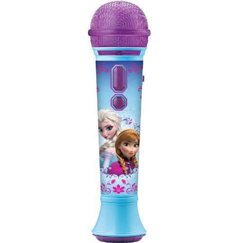 092298917436 - KIDdesigns Frozen Magical MP3 Microphone-Colors Mary Vary carousel main 0