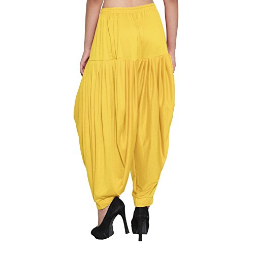 Lycra Salwar Patiala Dhoti Pantaloni Harem 6 Multicolore Baggy Pant Allentato Craftstribe Solido Viscosa Cp6Hq