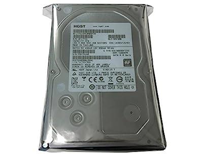 """HGST Ultrastar 7K4000 (0F17731) 3TB 64MB Cache 7200RPM SATA III 6.0Gb/s 3.5"""" Heaty-Duty Internal Hard Drive for CCTV DVR, NAS, PC/MAC (Certified Refurbished)"""