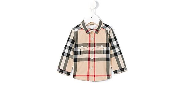 Burberry – Camisa 12 meses Check: Amazon.es: Ropa