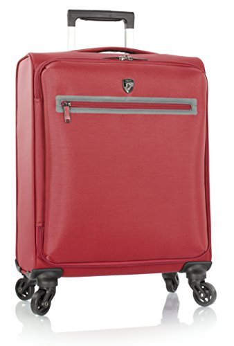 Heys America Hi-Tech Xero The World's Lightest 21 Inch Spinner Carry On Luggage (Red)
