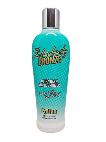 White Bronzer Tanning Lotion - 6