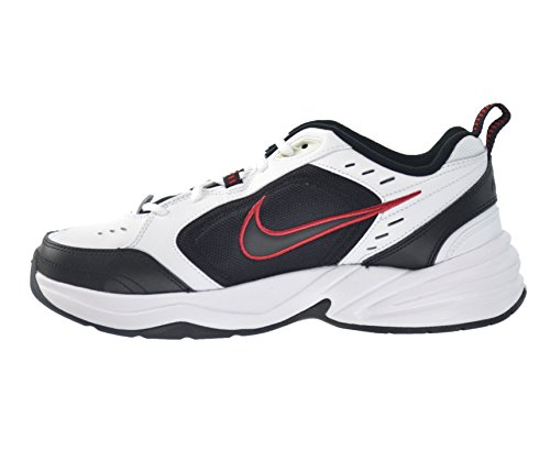 NIKE AIR MONARCH IV ZAPATOS CORRIENTES White/Black-Varsity Red