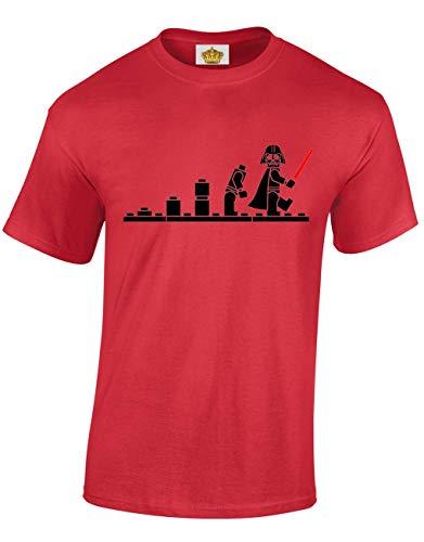 Fi Fan Films Pour Sci Construction Rouge Darth Bricks Hommes De Et Designs shirts Blocs T Adolescents Crown Cadeau L'espace 0vxwqS7