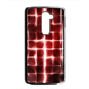 Artistic red light fashion phone case for LG G2