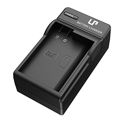 LP EN-EL15 EN EL15a Battery Charger, Compatible with Nikon D500, D600, D610, D750, D800, D800E, D810, D810A, D850, D7000, D7100, D7200, D7500 &More