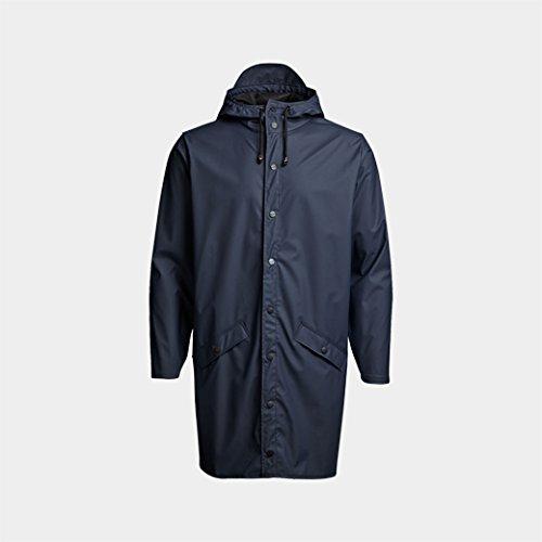 RAINS ロングジャケット ブルー XS/S B01930E5O4
