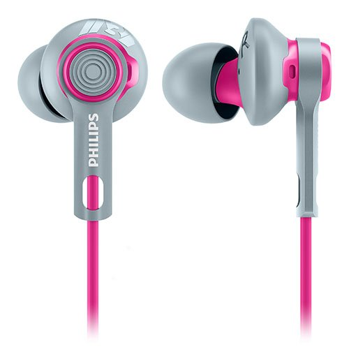 Philips SHQ2300PK/27 ActionFit Sports Headphones, Pink