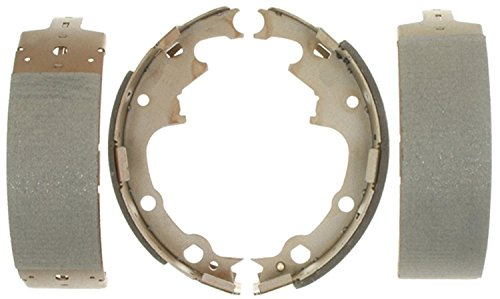 ACDelco 14538B Advantage Bonded Rear Brake Shoe Set