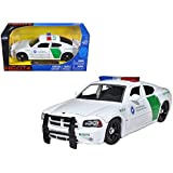 2006 Dodge Charger R T Border Patrol Car 1 24 Model by Jada