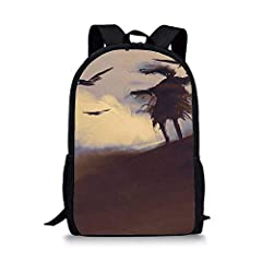 This Is A Fashionable And Comfortable,Large Capacity And Perfect Design School Bag.The Fabrics Are Made of High Quality Polyester,Which Wear-Resistant, Waterproof And Easy to Clean.Please Understand That The Color of The Reality of The Item M...