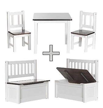 ♥ BABYDAY® Holz-Sitzgruppe\