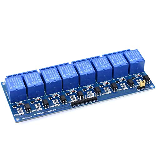 Business & Industrial 5V 1/2/4/6/8 Channel Relay Module Board ...