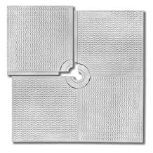"""'All-in-One' AlinO Shower Tray for Center Drain-48""""x48"""",32""""x60"""", any size upto 60""""x60"""" for Tiled shower"""