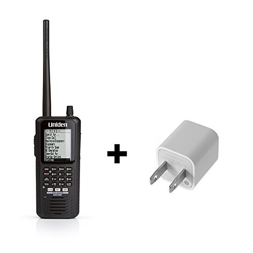Uniden BCD436HP HomePatrol Series Digital Handheld Scanner Bundle