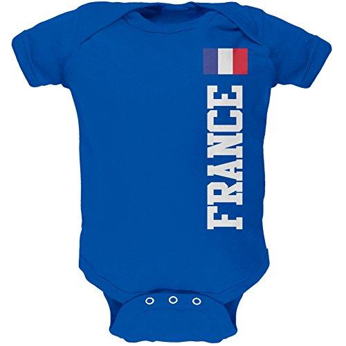 World Cup France Blue Infant Bodysuit - 0-3 months