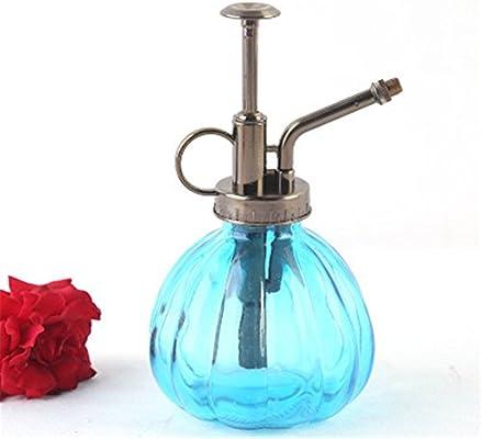 owikar planta Mister flores agua pulverizador botella puede Pot, Vintage calabaza estilo maceta decorativa de cristal atomizador de planta regadera con ...