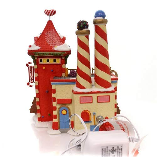 Department 56 North Pole Candy Crush Factory Village Lit Building Multicolor by Department 56 (Image #3)