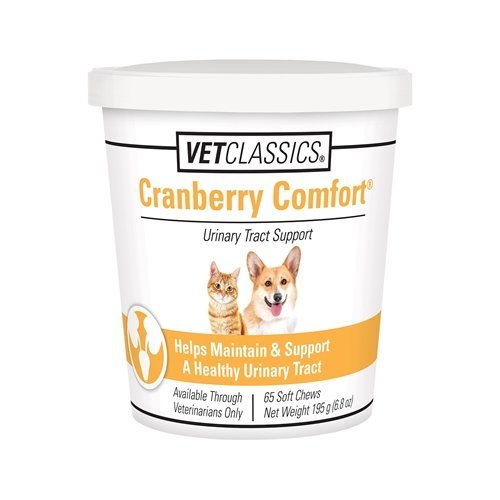 (Vet Classics Cranberry Comfort for Dogs & Cats (65 Soft Chews))