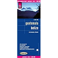 Reise Know-How Landkarte Guatemala, Belize (1:500.000): world mapping project