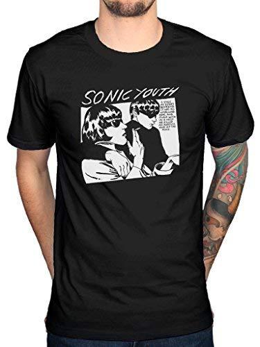 Plastic Head Sonic Youth 'Goo Album Cover' T-Shirt (Large)