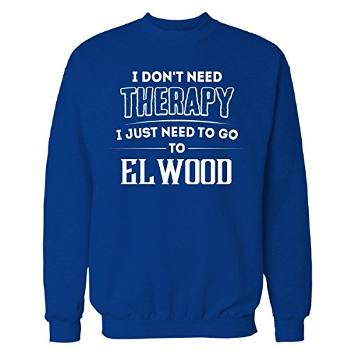 Don't Need Therapy Need To Go To Elwood City - Sweatshirt Royal (Elwood Pops)