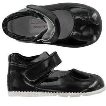 Barefoot Running Black Dress Jumping Down amp; Patent Preschoolians up AEqwFAd