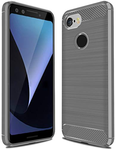 - Google Pixel 3 Case,Pixel 3 Case, Sucnakp TPU Shock Absorption Technology Raised Bezels Protective Case Cover for Google Pixel 3 Case (TPU Gray)