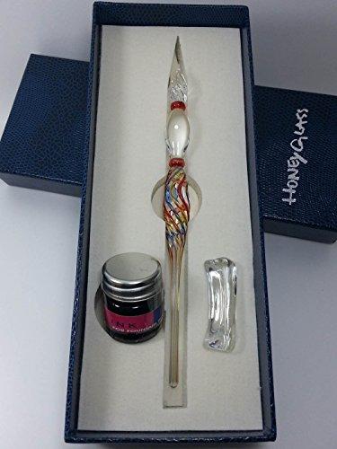 HoneyGlass Handmade Glass Dip Pen