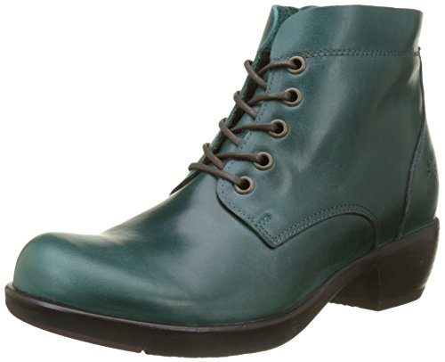 Fly London Mesu780fly, Stivali Donna Verde (Petrol)