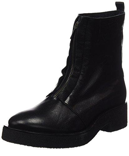 Mamatayoe Damen L Ambrogiana Booties Schwarz (schwarz Real Leder)