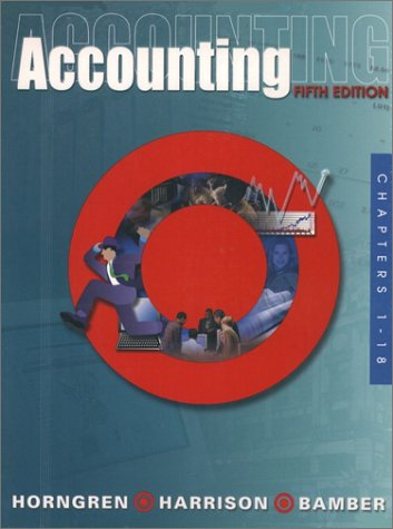 Accounting 1-18 and Target Report and CD Package, Fifth Edition