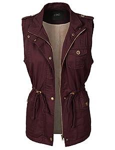 6. LE3NO Womens Vest