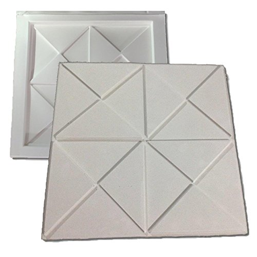 Forma De Plástico C/ Borracha Gesso 3d 016 Digitalartrio