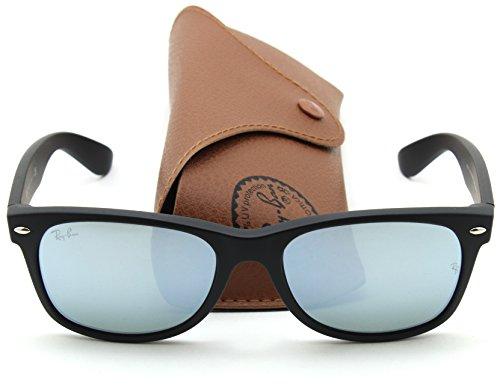 Ray-Ban RB2132 New Wayfarer Flash Series Unisex Sunglasses 622/30, - Mirrored Ray Wayfarer Ban