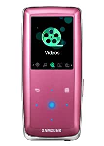 Samsung S3 4 GB Slim Portable Media Player (Pink)