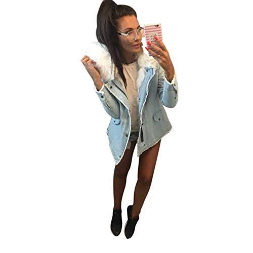 Con Moda Autunno Bianca Comodo Lunga Outerwear Pulsante Swag Di Giaccone Anteriori Manica Streetwear Tasche Invernali Glamorous Cappuccio Donna Elegante Giacca Semplice 1HgwXqYX