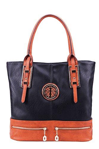 MKF Collection Isabelle Handbag (Black)