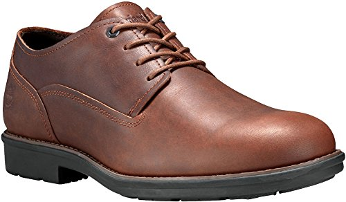 Timberland Men's Carter Notch WP Oxford, Dark Brown Full Grain, 10 D(M) US
