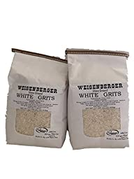 Weisenberger Mills Southern White Grits Non GMO - A Ky Proud Product 2lb Ea Pkg 2 Packs