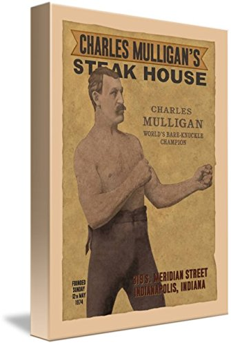Wall Art Print entitled Charles Mulligan's Steak House by Dave Delisle