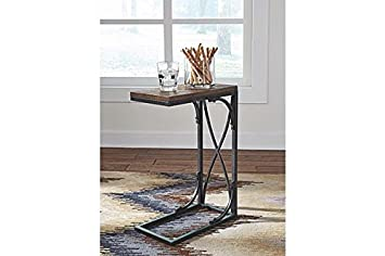 Signature Design by Ashley T106-117 Golander Chairside End Table Medium Brown