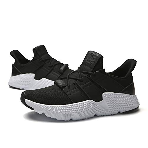 KCatsy Men Fashion Breathable Basketball Shoes Athletic Walking Sneakers