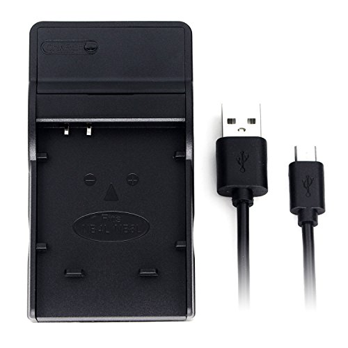 NB-4L Ultra Slim USB Charger for Canon PowerShot SD750 SD780 is SD1000 SD1100 is SD1400 is A2200 A3100 is, IXY Digital 60, IXUS 220 HS, Digital IXUS 70 Camera and More ()