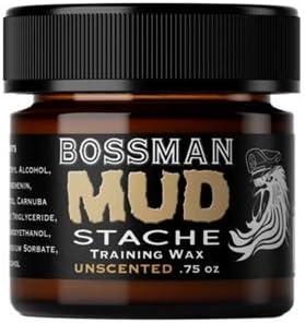 Bossman MUDstache Mustache Training Unscented