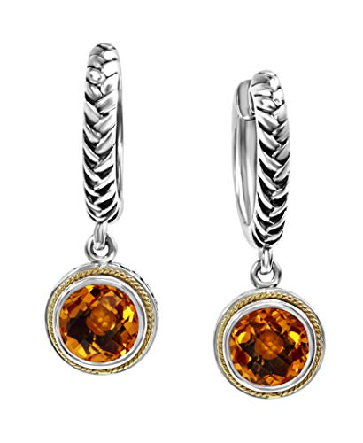EFFY 925 STERLING SILVER/18K YELLOW GOLD CITRINE ()