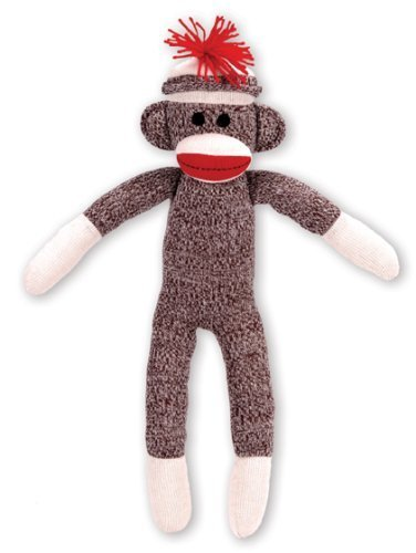 Schylling Sock Monkey (Knit Cuddly Collection)