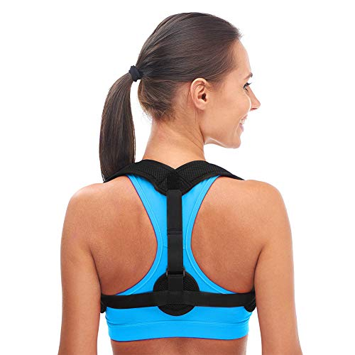 Back Posture Corrector for Women Men,Adjustable Upper Shoulder Brace Corrector,Clavicle Support Strap,Prevent Slouching and Relieve Pain Posture Straps by Anddegoo (Image #6)