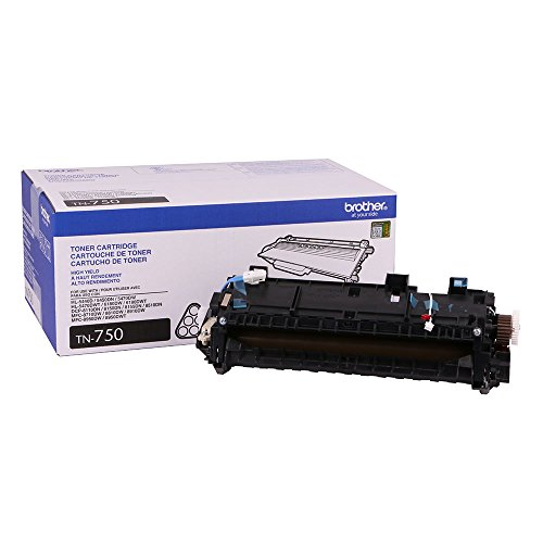Brother Genuine TN750 High Yield Toner Cartridge + Fuser Fixing Unit
